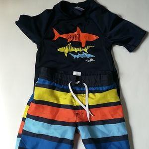 Gymboree size 3-4 swim suit